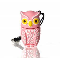 Plumi Pink owl Usb flash pendrive 16 gb