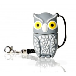 Plumi gray owl Usb flash pendrive 16 gb