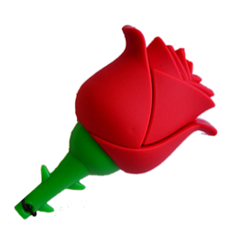 Red rose ONE Usb flash pendrive 16 gb